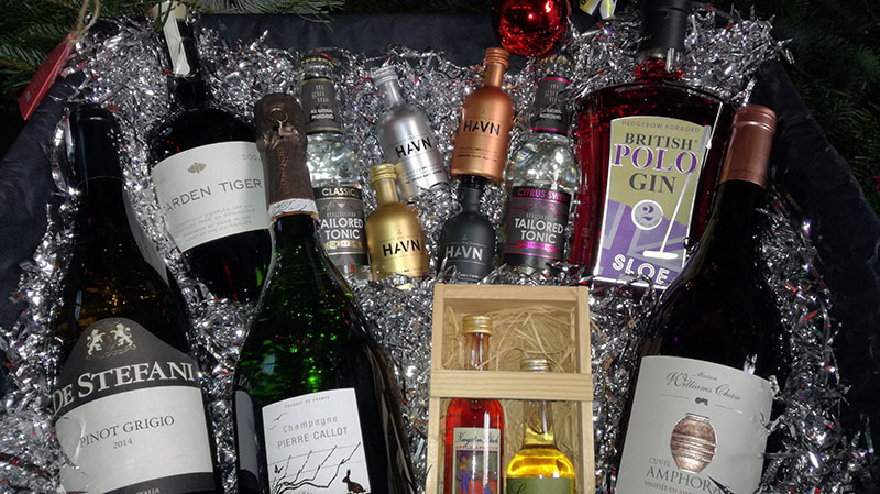 win a christmas drinks hamper with john gordons cheltenham