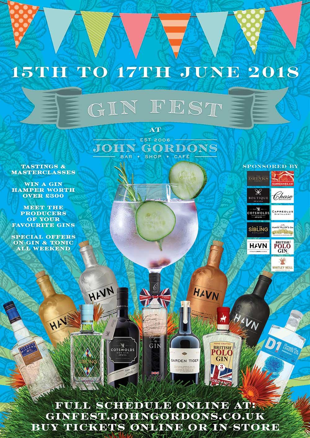 John Gordons Gin Fest 2018