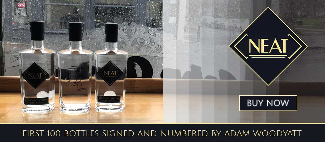Neat Gin by Adam Woodyatt 100 signed and numbered